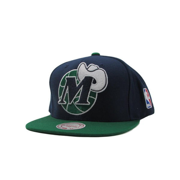 Dallas Mavericks XL Logo Snapback Hat NBA Basketball Mitchell & Ness