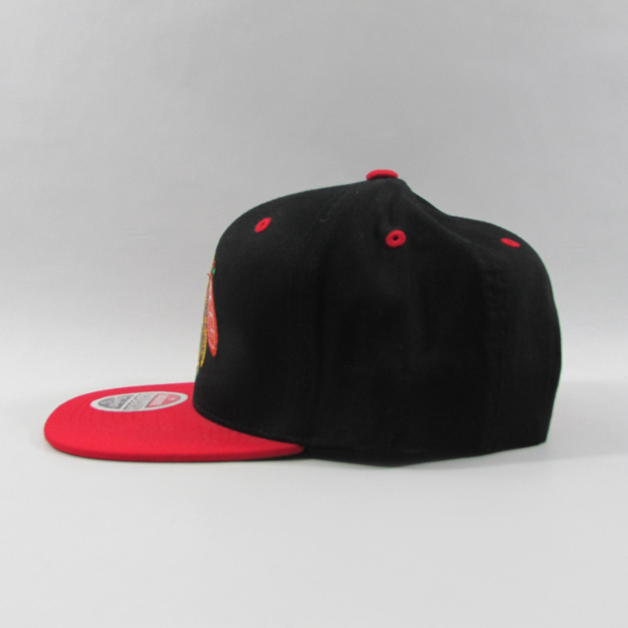 Chicago Blackhawks Big Logo Hockey Snapback Hat Zephyr Hats