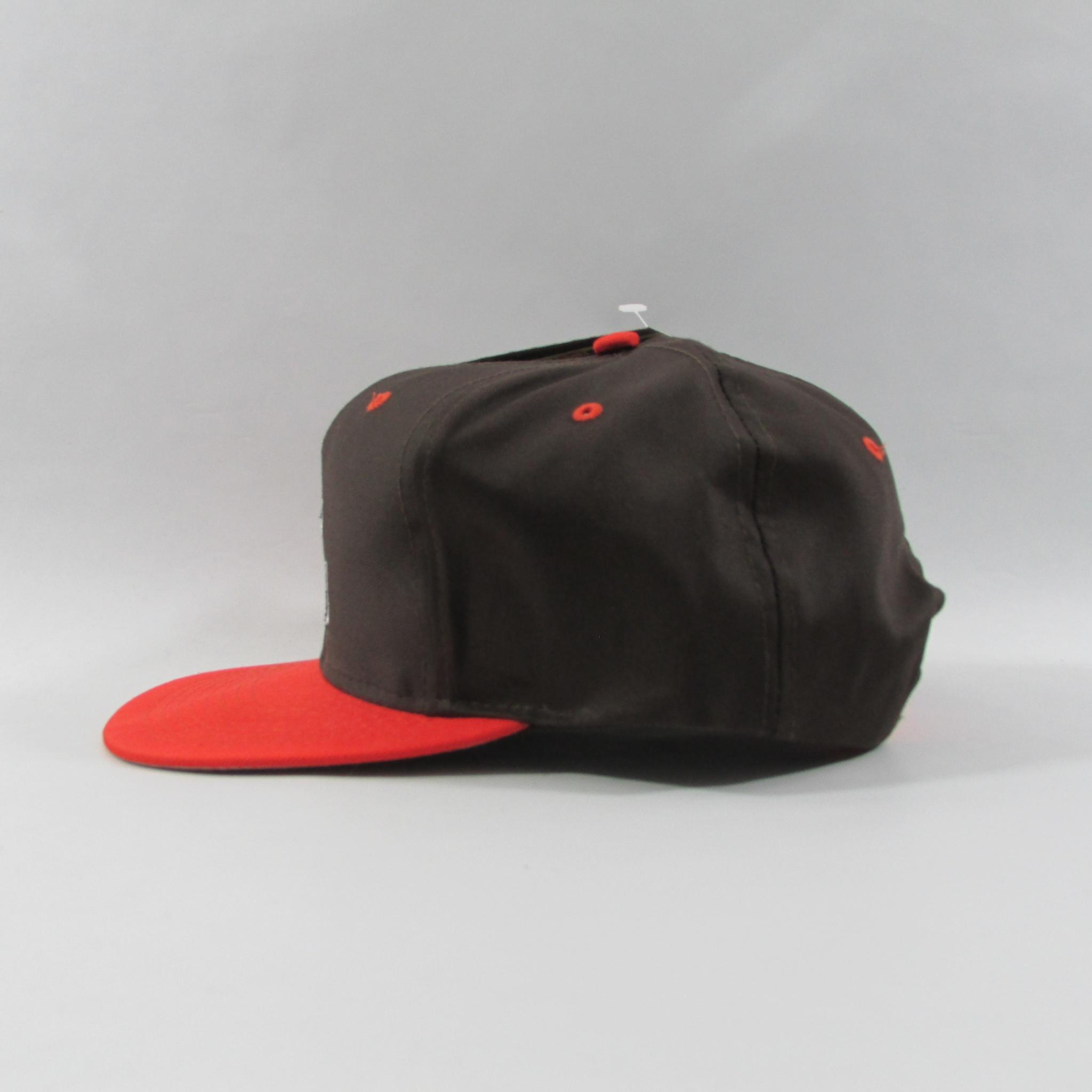 Cleveland Browns Deadstock Football Snapback Hat Logo Athletic