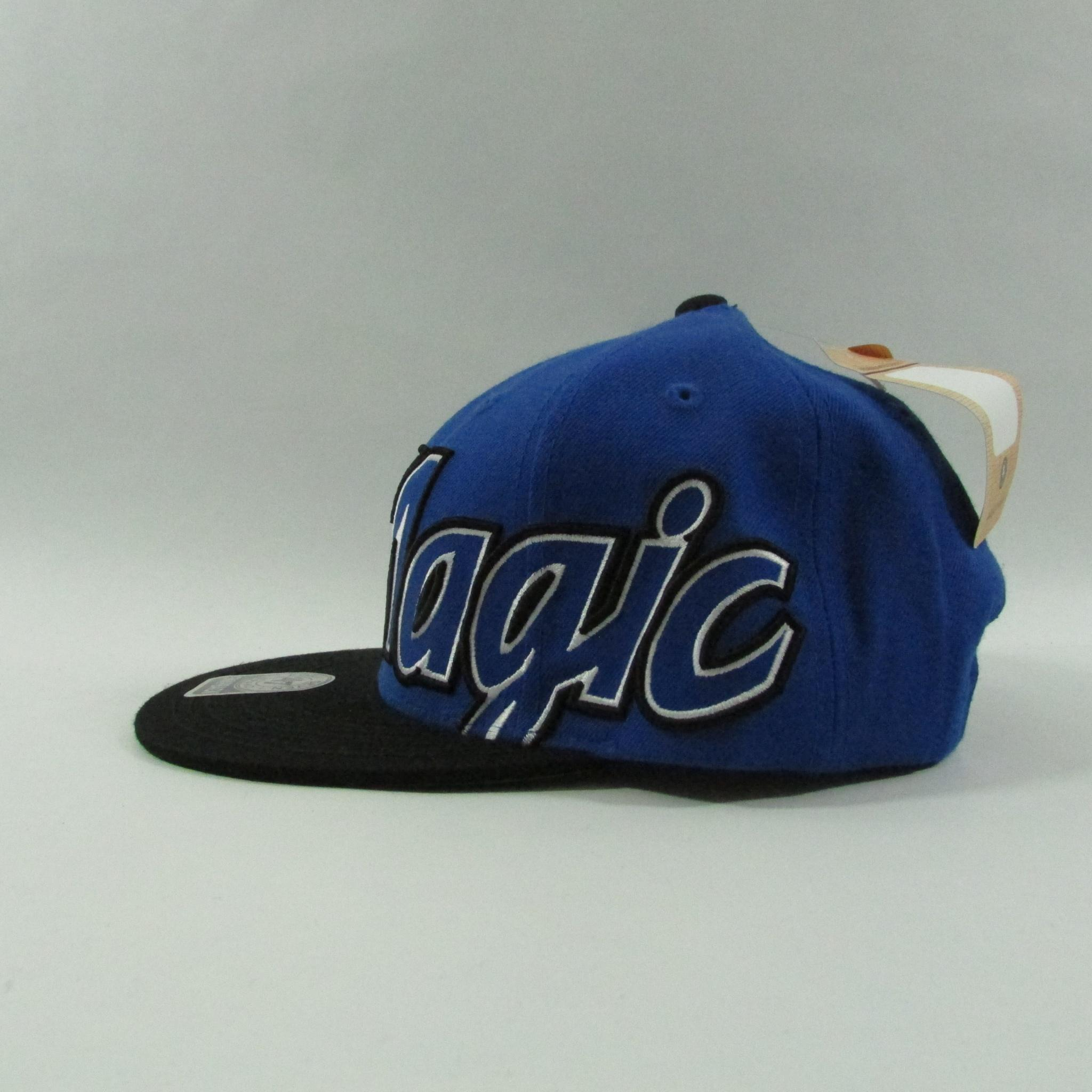 Orlando Magic Big XL Logo Basketball Snapback Hat 47 Brand