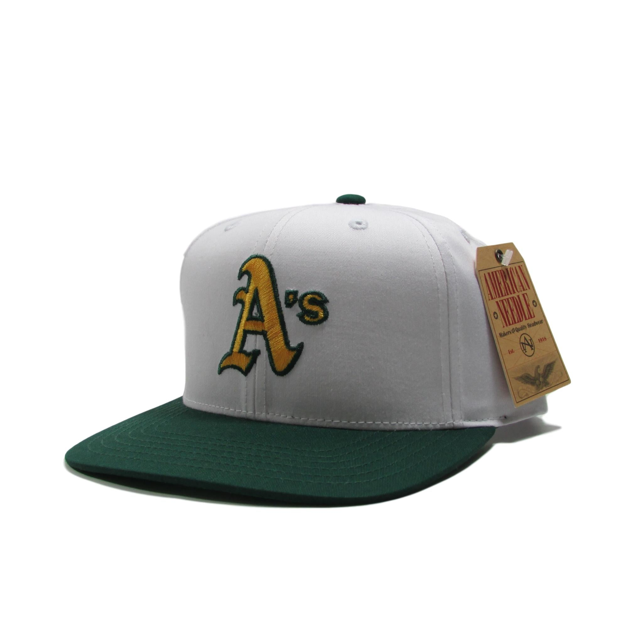 Oakland Athletics White Baseball Snapback Hat American Needle