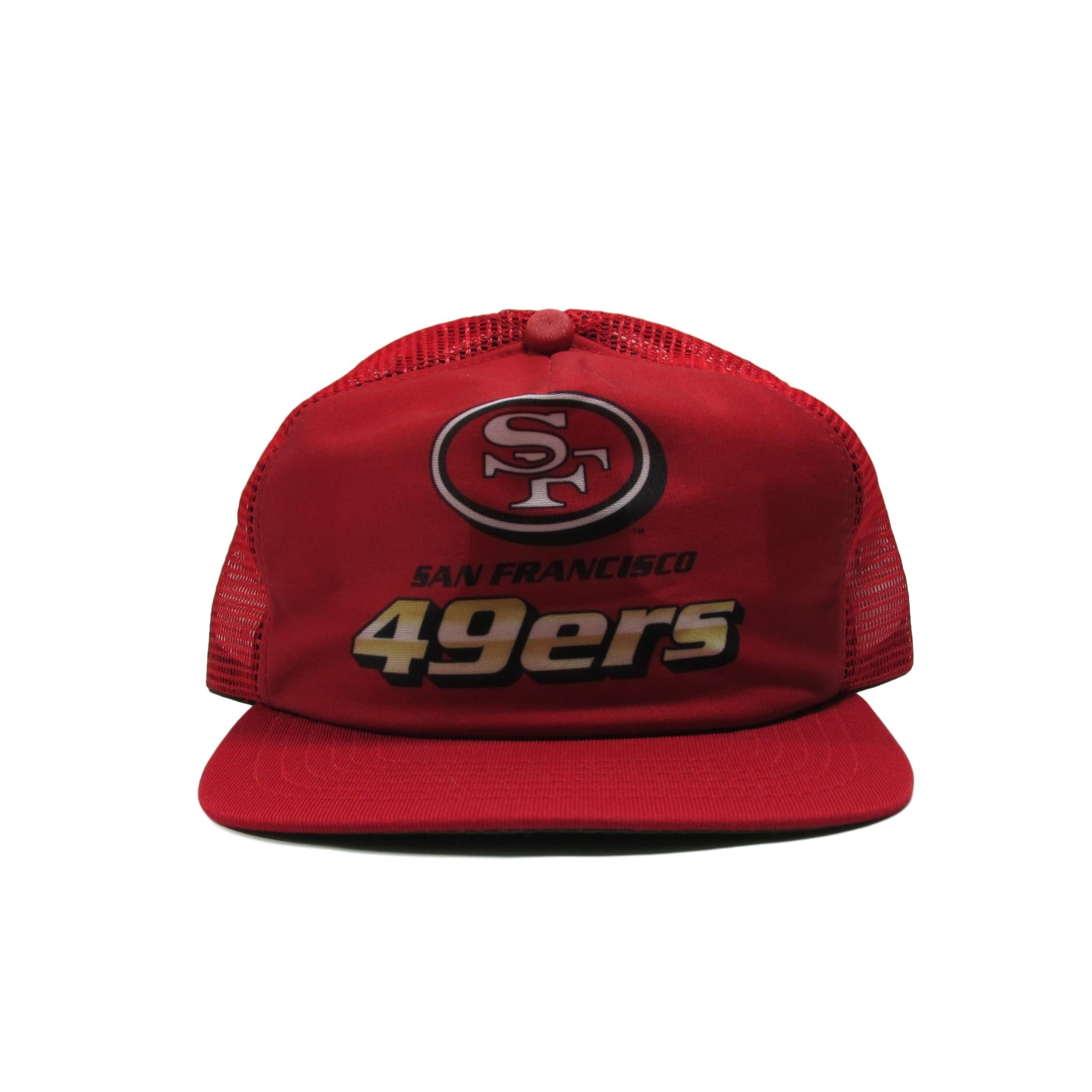 San Francisco 49ers Original Football Trucker Snapback Hat New Era