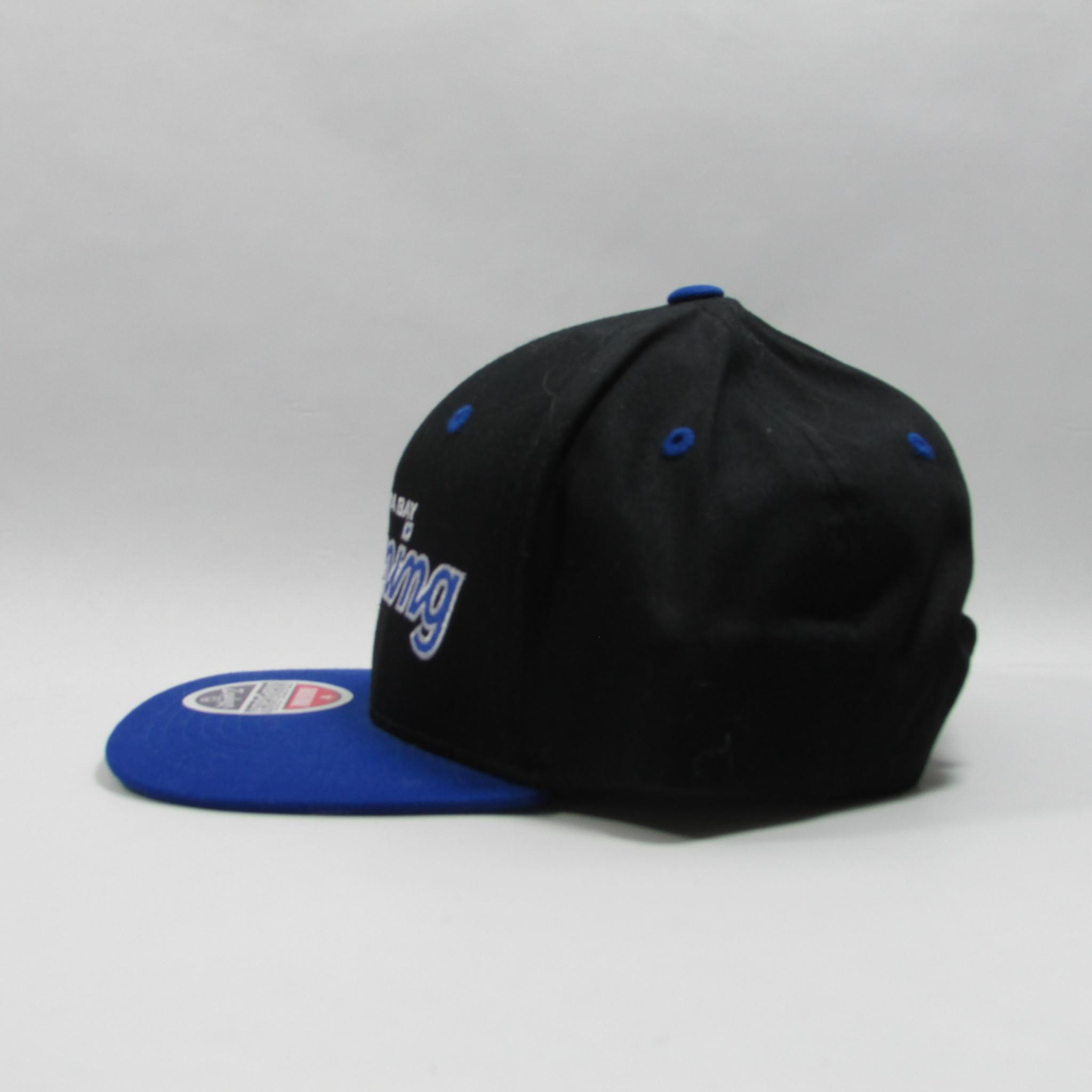 Tampa Bay Lighting Hockey Cursive Script Font Snapback Hat ZHATS