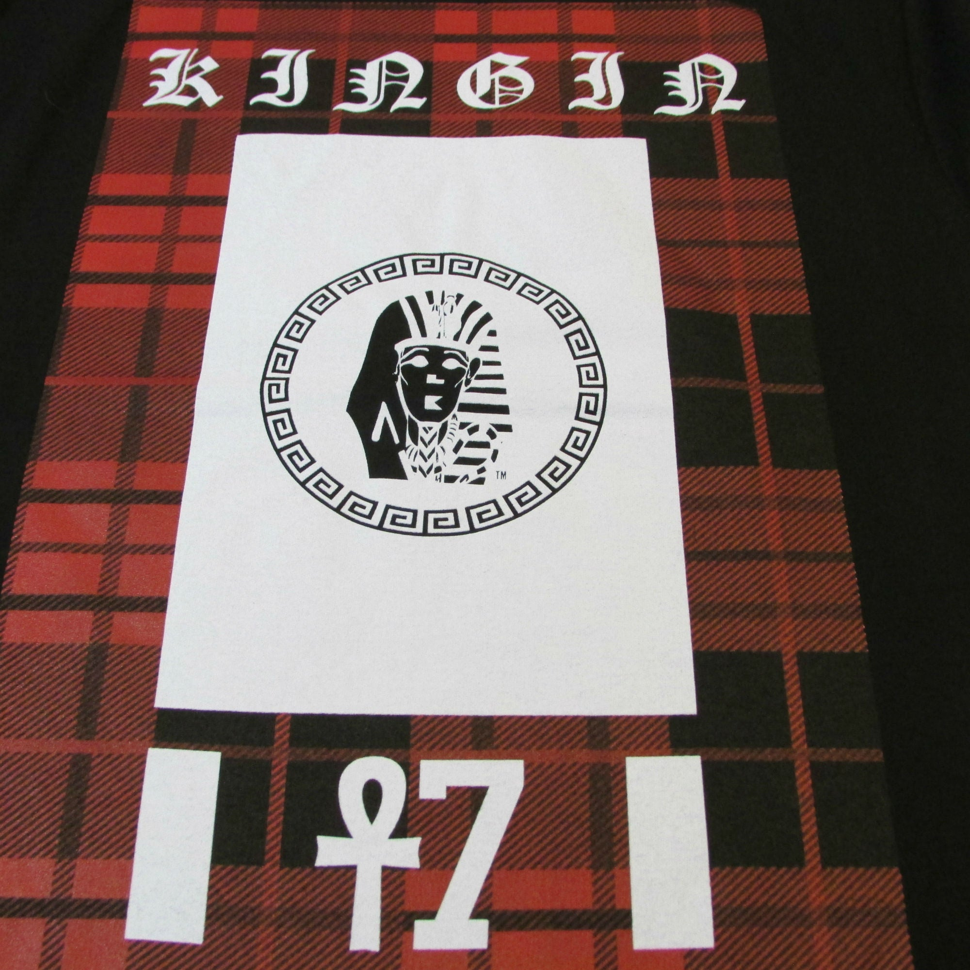 Last Kings Summer Red Plaid Kingin T-Shirt New