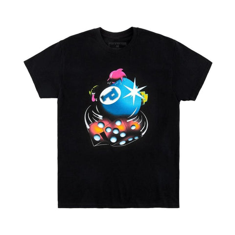 Pink Dolphin 8 Ball Gamble T-Shirt