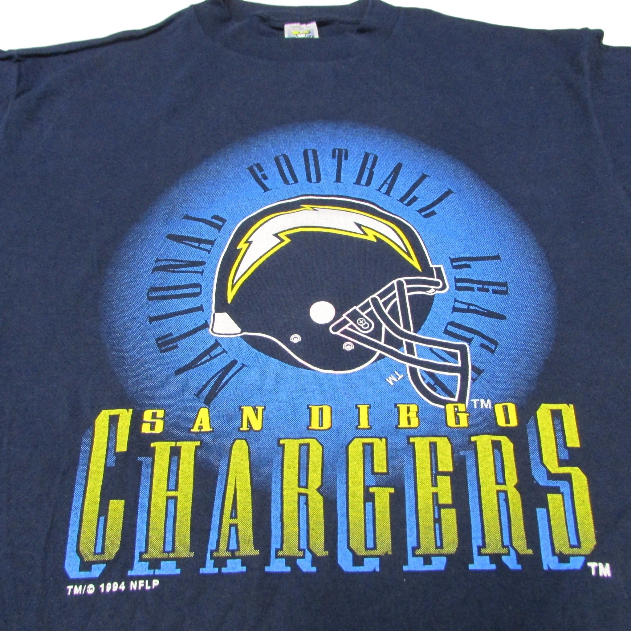 San Diego Chargers Vintage T-Shirt Competitor Sz XL