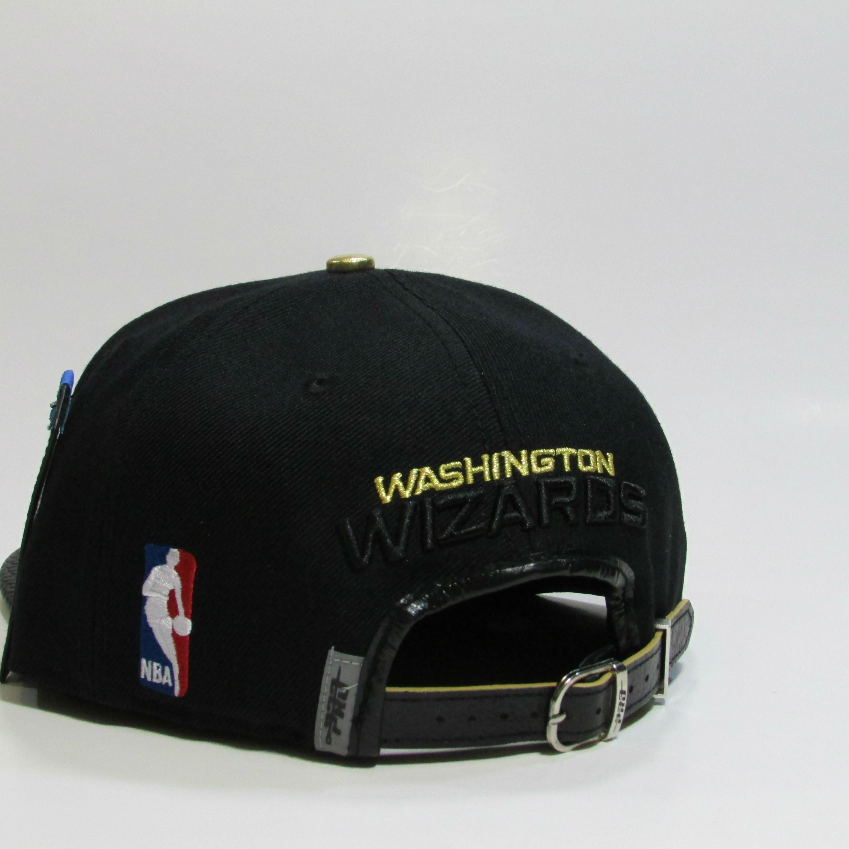 Washington Wizards Genuine Leather Snapback Hat by PRO STANDARD