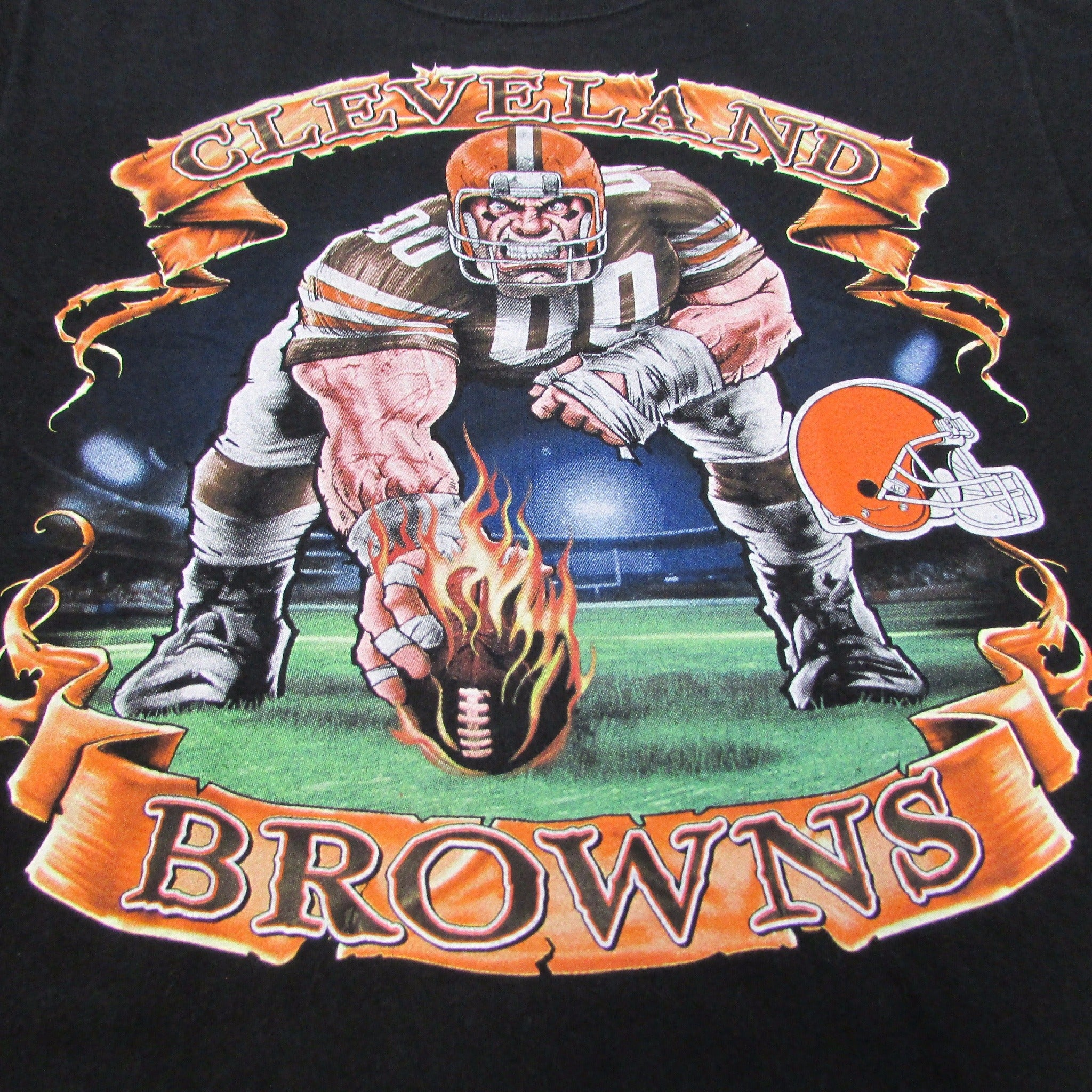 Cleveland Browns Monday Night Football Vintage T-Shirt Sz L