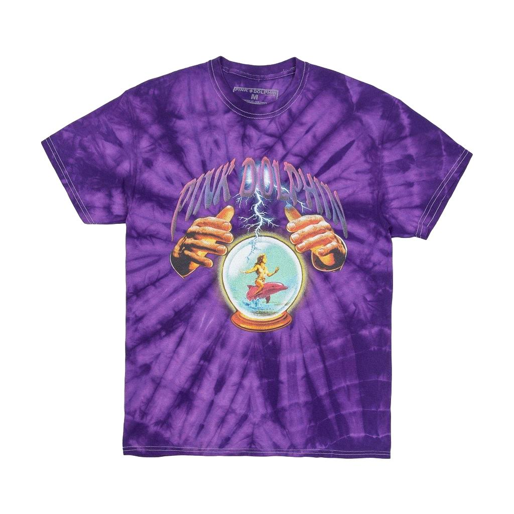 Pink Dolphin Crystal Ball Tie Dye T-Shirt