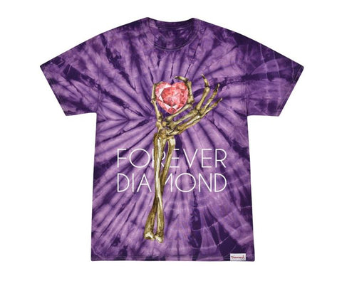 Diamond Supply Co Heart of Tee Spider  Tie Dye T-Shirt