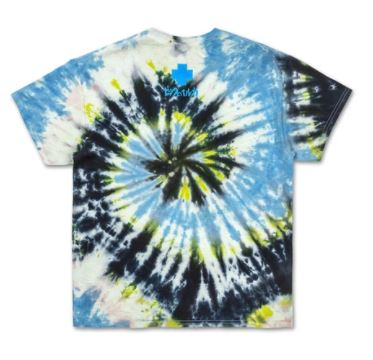 Pink Dolphin Midnight Ride Tie Dye T-Shirt