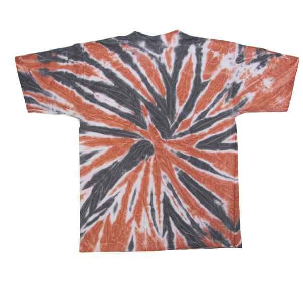 University of Texas Austin Longhorns Football Tie Dye T-Shirt Sz L