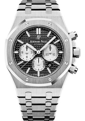 Audemars Piguet Royal Oak Chronograph Watch-Black Dial 41mm-26331ST.OO.1220ST.02 - Luxury Time NYC INC