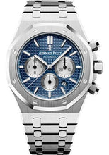 Load image into Gallery viewer, Audemars Piguet Royal Oak Chronograph Watch-Blue Dial 41mm-26331ST.OO.1220ST.01 - Luxury Time NYC INC