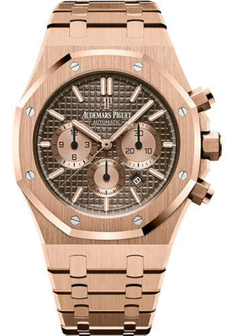 Audemars Piguet Royal Oak Chronograph Watch-Brown Dial 41mm-26331OR.OO.1220OR.02 - Luxury Time NYC INC