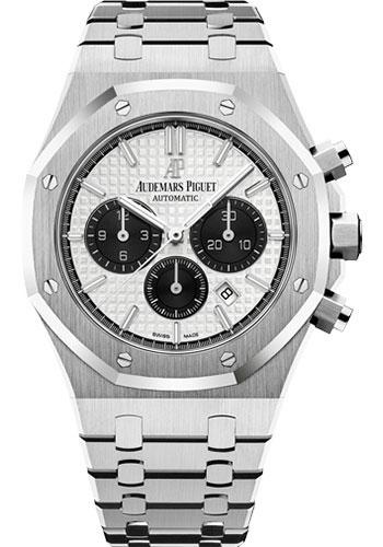 Audemars Piguet Royal Oak Chronograph Watch-Silver Dial 41mm-26331ST.OO.1220ST.03 - Luxury Time NYC INC