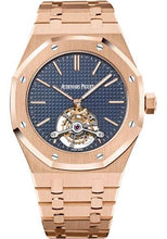 Load image into Gallery viewer, Audemars Piguet Royal Oak Extra-Thin Tourbillon Watch-Blue Dial 41mm-26510OR.OO.1220OR.01 - Luxury Time NYC INC