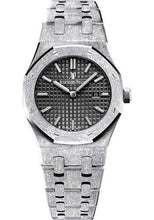 Load image into Gallery viewer, Audemars Piguet Royal Oak Frosted Gold Quartz Watch-Black Dial 33mm-67653BC.GG.1263BC.02 - Luxury Time NYC INC