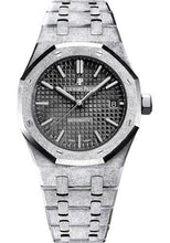 Load image into Gallery viewer, Audemars Piguet Royal Oak Frosted Gold Selfwinding Watch-Black Dial 37mm-15454BC.GG.1259BC.03 - Luxury Time NYC INC