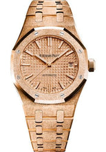 Load image into Gallery viewer, Audemars Piguet Royal Oak Frosted Gold Selfwinding Watch-Pink Dial 37mm-15454OR.GG.1259OR.03 - Luxury Time NYC INC
