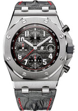 Load image into Gallery viewer, Audemars Piguet Royal Oak Offshore Chronograph Watch-Black Dial 42mm-26470ST.OO.A101CR.01 - Luxury Time NYC INC