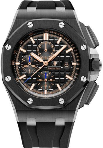 Audemars Piguet Royal Oak Offshore Chronograph Watch-Black Dial 44mm-26405CE.OO.A002CA.02 - Luxury Time NYC INC