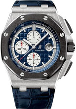Load image into Gallery viewer, Audemars Piguet Royal Oak Offshore Chronograph Watch-Blue Dial 44mm-26401PO.OO.A018CR.01 - Luxury Time NYC INC