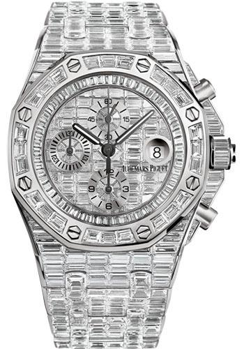 Audemars Piguet Royal Oak Offshore Chronograph Watch-Dial 42mm-26473BC.ZZ.8043BC.01 - Luxury Time NYC INC