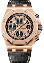 Load image into Gallery viewer, Audemars Piguet Royal Oak Offshore Chronograph Watch-Pink Dial 42mm-26470OR.OO.A002CR.01 - Luxury Time NYC INC