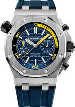 Load image into Gallery viewer, Audemars Piguet Royal Oak Offshore Diver Chronograph Limited Edition of 400 Watch-Blue Dial 42mm-26703ST.OO.A027CA.01 - Luxury Time NYC INC