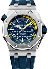 Load image into Gallery viewer, Audemars Piguet Royal Oak Offshore Diver Watch-Blue Dial 42mm-15710ST.OO.A027CA.01 - Luxury Time NYC INC