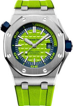 Load image into Gallery viewer, Audemars Piguet Royal Oak Offshore Diver Watch-Green Dial 42mm-15710ST.OO.A038CA.01 - Luxury Time NYC INC