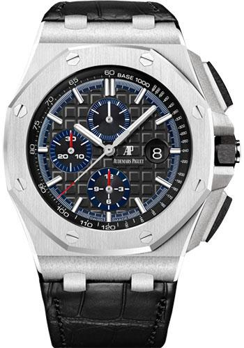 Audemars Piguet Royal Oak Offshore Selfwinding Chronograph Watch-Black Dial 44mm-26412PT.OO.A002CR.01 - Luxury Time NYC INC