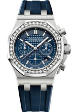 Load image into Gallery viewer, Audemars Piguet Royal Oak Offshore Selfwinding Chronograph Watch-Blue Dial 37mm-26231ST.ZZ.D027CA.01 - Luxury Time NYC INC