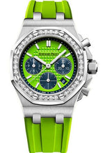 Load image into Gallery viewer, Audemars Piguet Royal Oak Offshore Selfwinding Chronograph Watch-Green Dial 37mm-26231ST.ZZ.D038CA.01 - Luxury Time NYC INC