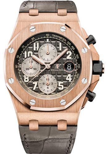 Audemars Piguet Royal Oak Offshore Selfwinding Chronograph Watch-Grey Dial 42mm-26470OR.OO.A125CR.01 - Luxury Time NYC INC