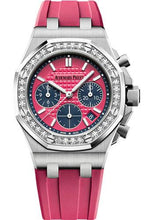 Load image into Gallery viewer, Audemars Piguet Royal Oak Offshore Selfwinding Chronograph Watch-Pink Dial 37mm-26231ST.ZZ.D069CA.01 - Luxury Time NYC INC