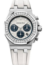 Load image into Gallery viewer, Audemars Piguet Royal Oak Offshore Selfwinding Chronograph Watch-Silver Dial 37mm-26231ST.ZZ.D010CA.01 - Luxury Time NYC INC