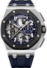 Load image into Gallery viewer, Audemars Piguet Royal Oak Offshore Tourbillon Chronograph Watch-Blue Dial 44mm-26388PO.OO.D027CA.01 - Luxury Time NYC INC