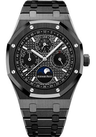 Audemars Piguet Royal Oak Perpetual Calendar Watch-Grey Dial 41mm-26579CE.OO.1225CE.01 - Luxury Time NYC INC