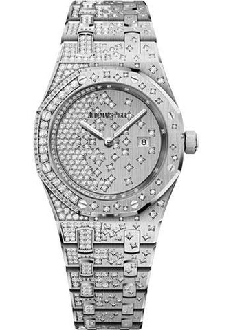 Audemars Piguet Royal Oak Quartz Watch-Dial 33mm-67654BC.ZZ.1264BC.01 - Luxury Time NYC INC