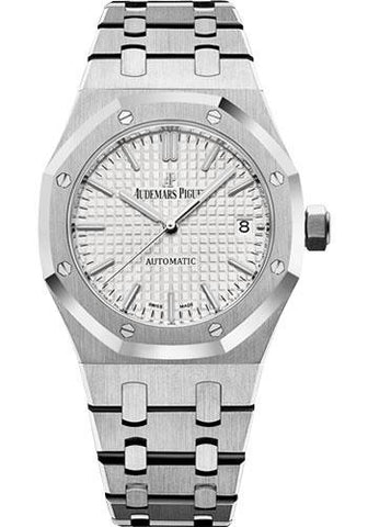 Audemars Piguet Royal Oak Selfwinding 37mm Watch-Silver Dial 37mm-15450ST.OO.1256ST.01 - Luxury Time NYC INC