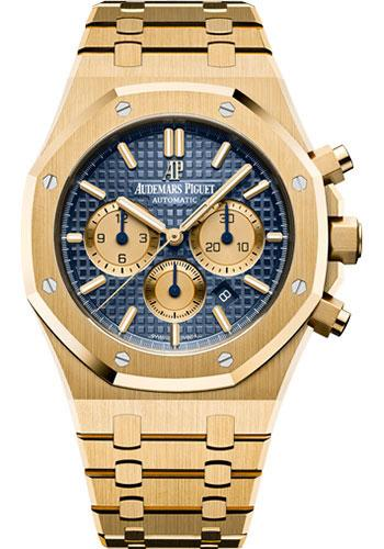 Audemars Piguet Royal Oak Selfwinding Chronograph Watch-Blue Dial 41mm-26331BA.OO.1220BA.01 - Luxury Time NYC INC