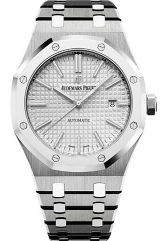 Audemars Piguet Royal Oak Selfwinding QE II Cup 2017 Limited Edition of 200 Watch-Rhodium Dial 41mm-15403IP.OO.1220IP.01 - Luxury Time NYC INC
