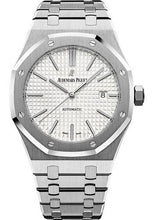 Load image into Gallery viewer, Audemars Piguet Royal Oak Selfwinding Watch - 41mm - Stainless Steel - Silver Dial - Calibre 3120-Silver Dial 41mm-15400ST.OO.1220ST.02 - Luxury Time NYC INC
