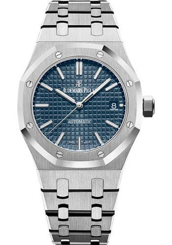 Audemars Piguet Royal Oak Selfwinding Watch-Blue Dial 37mm-15450ST.OO.1256ST.03 - Luxury Time NYC INC