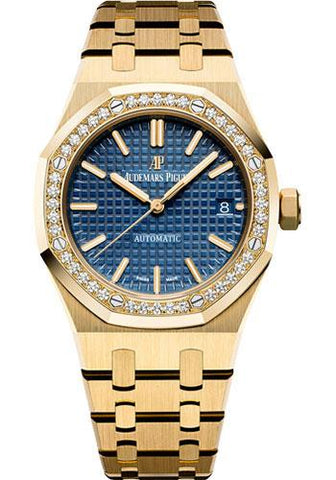 Audemars Piguet Royal Oak Selfwinding Watch-Blue Dial 37mm-15451BA.ZZ.1256BA.01 - Luxury Time NYC INC