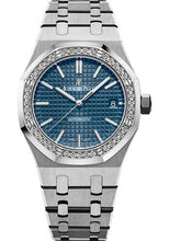 Load image into Gallery viewer, Audemars Piguet Royal Oak Selfwinding Watch-Blue Dial 37mm-15451ST.ZZ.1256ST.03 - Luxury Time NYC INC