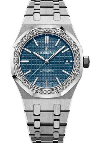 Audemars Piguet Royal Oak Selfwinding Watch-Blue Dial 37mm-15451ST.ZZ.1256ST.03 - Luxury Time NYC INC