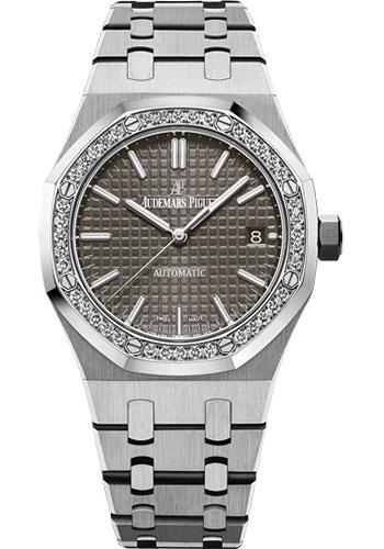 Audemars Piguet Royal Oak Selfwinding Watch-Grey Dial 37mm-15451ST.ZZ.1256ST.02 - Luxury Time NYC INC